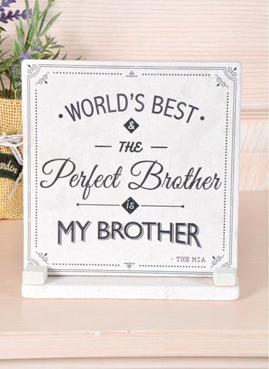 Plaket Mermer - Brother-The Mia